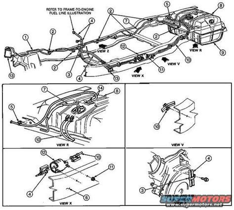 1986 ford bronco fuel system pictures and sounds