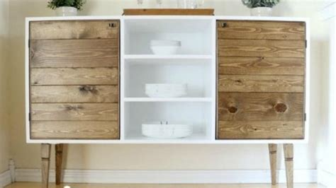 buffet sideboard  credenza plans ana white