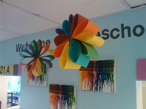 Crafts To Do With Construction Paper - construction paper flower it can be use for a