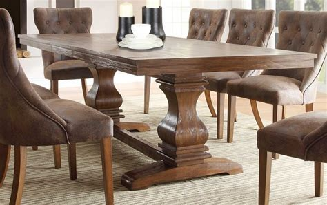 Rustic Modern Dining Room Tables dining room furniture and ideas to make your space pop