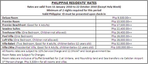 boracay de cavite room rates shangri la boracay resort and spa dencio