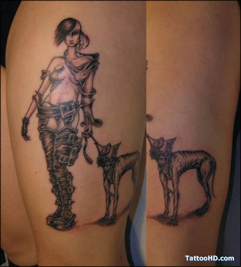 usmc devil dog tattoos