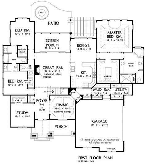 mud room laundry house plans