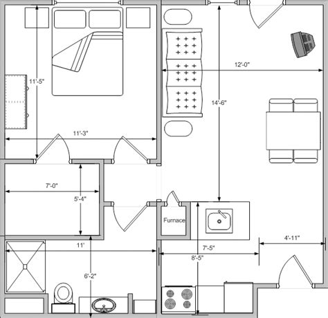 bedroom plans one bedroom floor plan autumn ridge supportive living