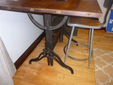 height adjustable drafting table antique vintage cast iron drafting table tilt adjustable