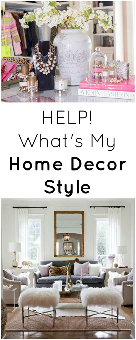 what s my home decor style modern glam