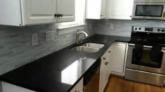 Black Countertop Kitchen Black Kitchen Countertop A Choice Of Aggressive Furniture House Design