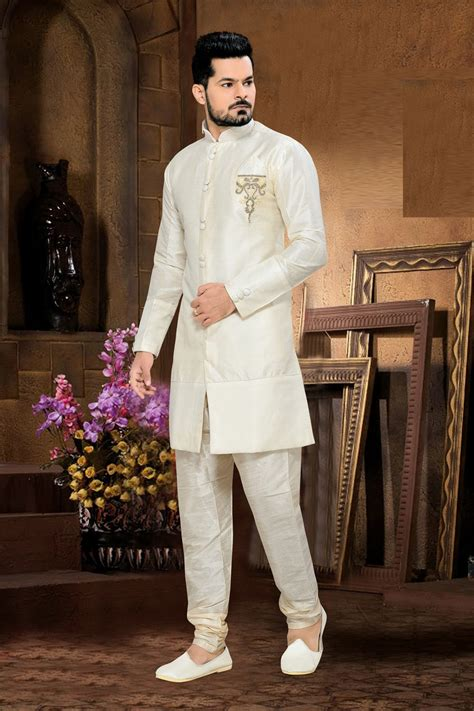 Marriage Wear Dresses by White Sherwani For Wedding Shopping Usa Silk