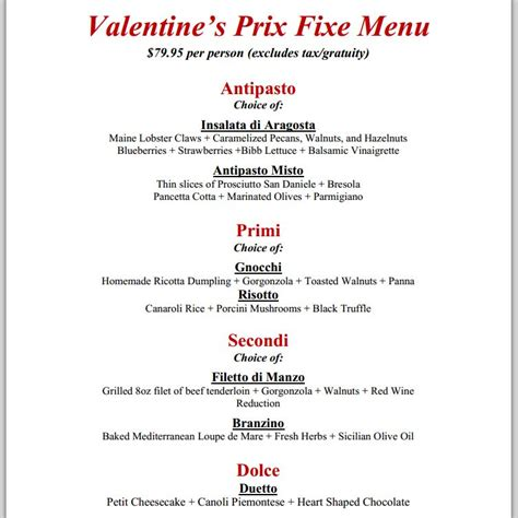 valentine s day restaurant meals and deals 2014 part 1