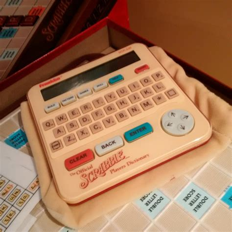 scrabble dictionary for sale find more franklin electronic scrabble dictionary scr 226