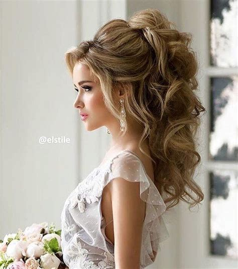 wedding hairstyles down pinterest wedding hairstyle inspiration weddings hair style and