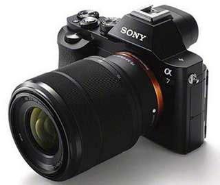 Dan Spesifikasi Kamera Sony A7 sony a7 dan sony a7r frame separuh harga