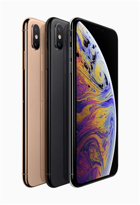 apple iphone xs and xs max with oled hdr displays 12mp dual rear a12 bionic soc launched