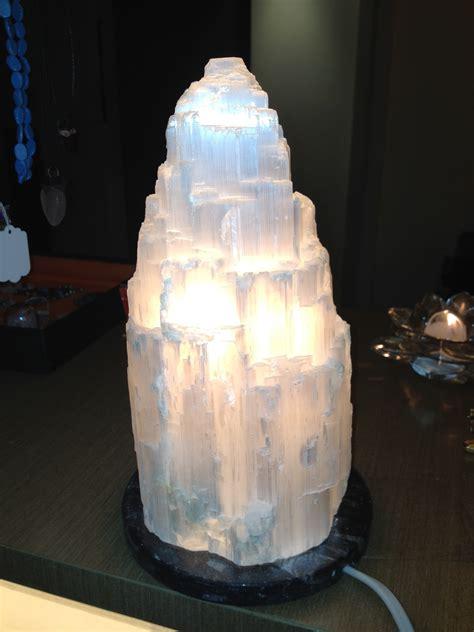 selenite lamps shakti healing circle
