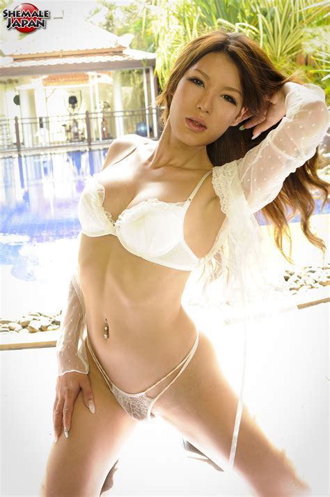Rui Matsushita Beautiful Japanese Newhalf Gets Naked And