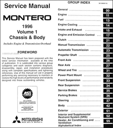 free online car repair manuals download 1996 eagle summit security system service manual free online auto service manuals 1996 mitsubishi montero transmission control