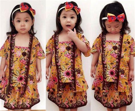 Baju Setelan Anak Cewek Trendy Usia 1 Tahun Merah 2102 100 gambar baju batik anak umur 2 tahun dengan kumpulan