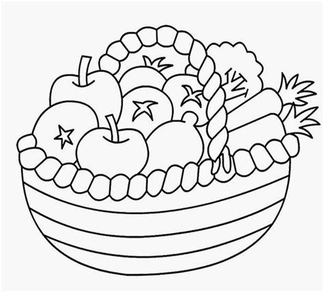 Fruit Basket Multipurpose Basket Tempat Buah Dan Sayur Sj 240 X kumpulan gambar hitam putih bw untuk diwarnai freewaremini
