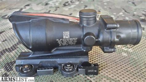 larue tactical acog mount qd lt100 larue tactical armslist for sale trijicon acog ta31 rcom4 4x32 w