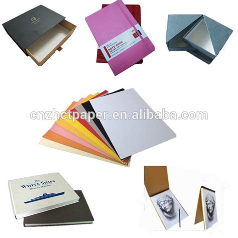 Folding Laminated Paper - black paperboard with grey back colored laminated
