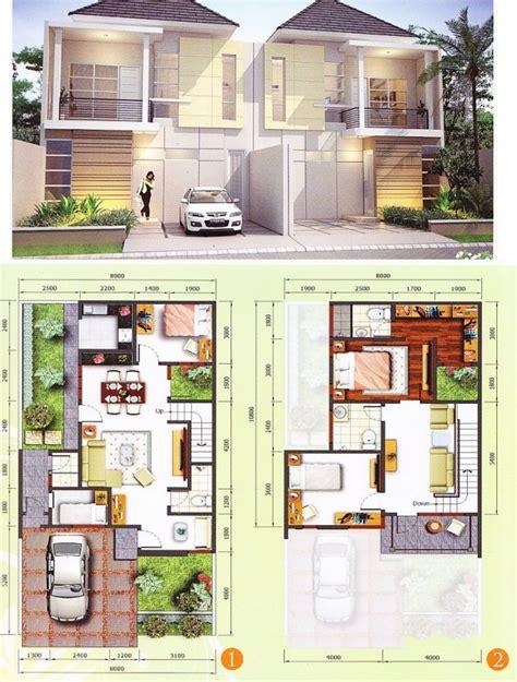desain rumah minimalis ukuran 6x15 koleksi foto desain rumah minimalis 2 lantai tak depan