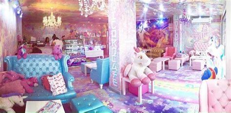 lisa frank bedroom this unicorn caf 233 is a pastel paradise with rainbow cake