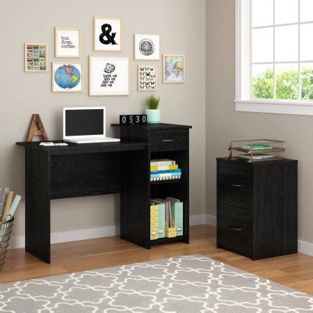 mainstays black student desk mainstays student desk black ash furniture office