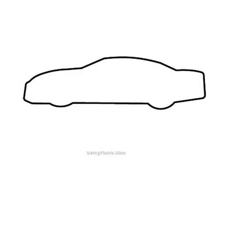 printable car shapes stock shape car outline recycled magnet 1 quot x3 1 4 quot china