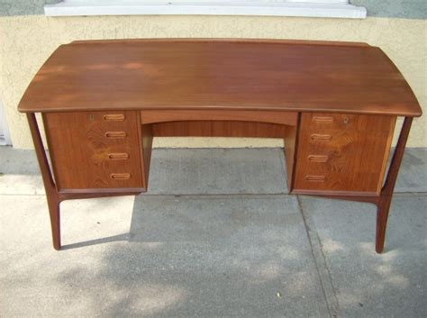 svend madsen teak desk the fabulous find mid century modern furniture showroom