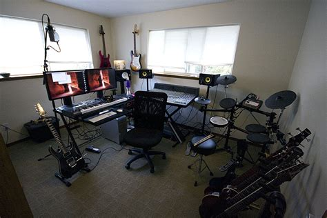 home studio setup home recording studio amazing computer setup
