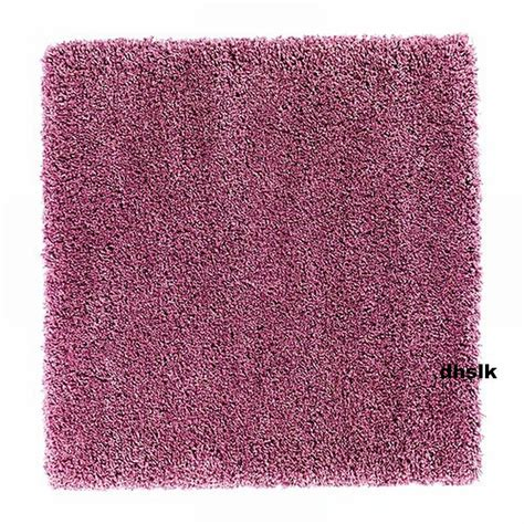 ikea shag rugs ikea aborg pink area rug throw carpet mat hi pile modern