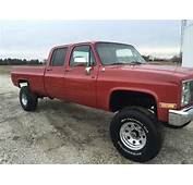 1991 Chevy Crew Cab 4x4 406 4 Speed Lifted  Classic