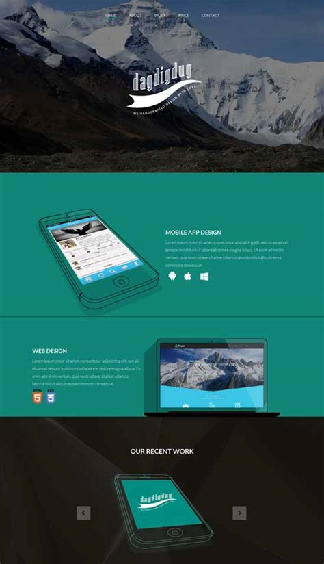 free responsive landing page template 30 free responsive landing page templates 2015