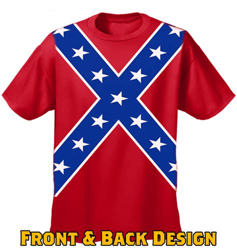 Fly T Shirt Rebel confederate flag tshirt confederate rebel pride all