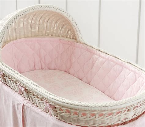 Bassinet Bedding by Belgian Flax Linen Bassinet Bedding Pottery Barn