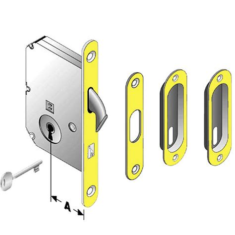 serrature per porte scorrevoli kit serratura per porte scorrevoli bonaiti b3c g ottone