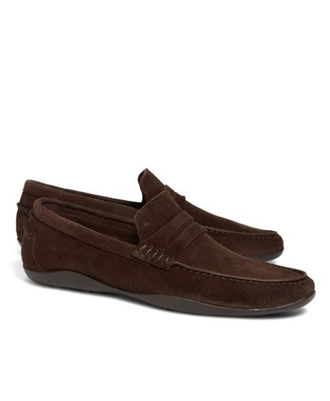 harrys of loafers s harrys of basel kudu suede loafers
