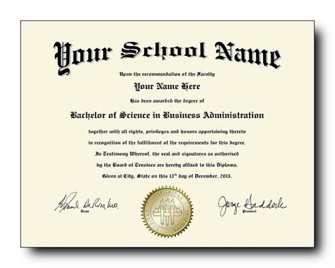 novelty diploma novelty college diploma order form