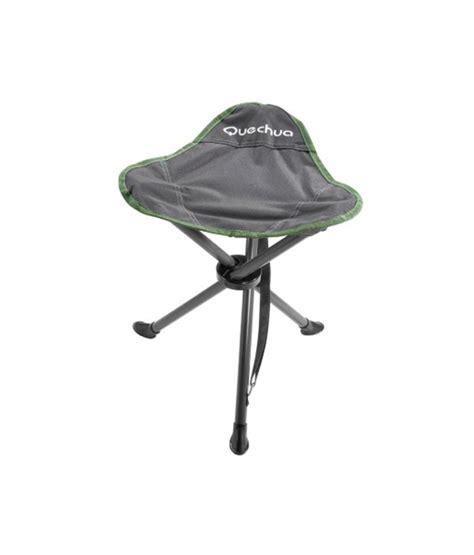 tripod cing furniture green quechua tripod stool hiking furniture green 8057118 buy
