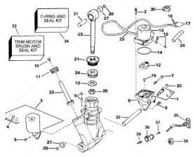 Johnson 2004 115 J115glsrc Power Trim Tilt Hydraulic