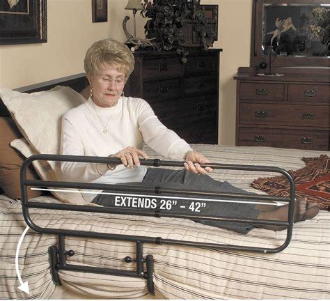 ez adjustable bed rail living  easy