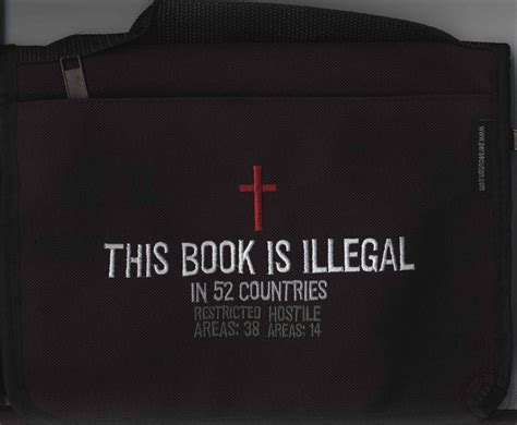 This Book is Illegal Bible Cover (Small Small: 7.25 x 5.5