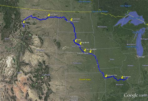 map of usa missouri river will climate change affect water supply on the missouri