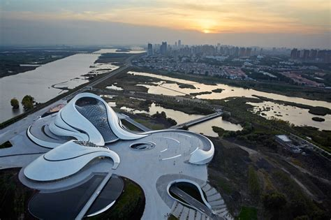 Mad Architects Fluid Formed Harbin Opera House Opens In China