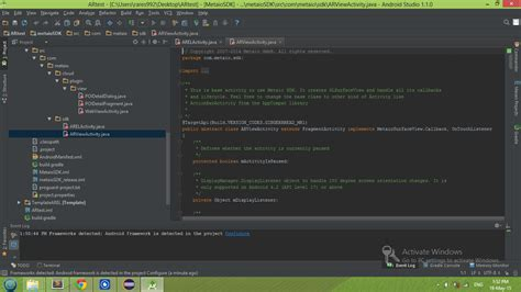 zxing tutorial android studio java how to import metaio scenario into android studio