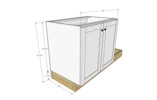 Kitchen Cabinet Base Width » Home Design 2017