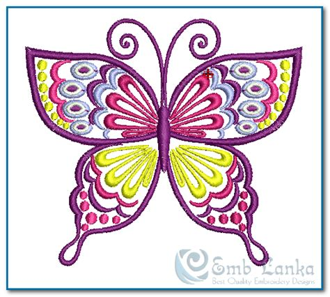 embroidery design butterfly butterfly designs for embroidery