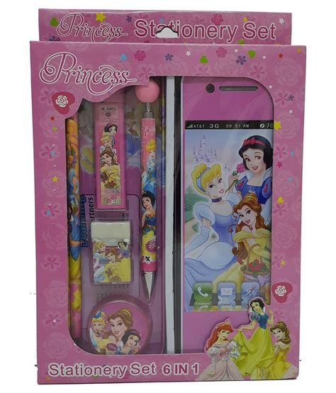 Disney Princess Stationerry Set disney princess stationery set of 7 pieces buy at