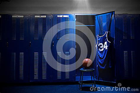 locker room authentics basketball locker room stock images image 32653224