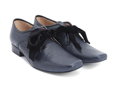 fluevog shoes fluevog shoes shop era blue leather shoe with